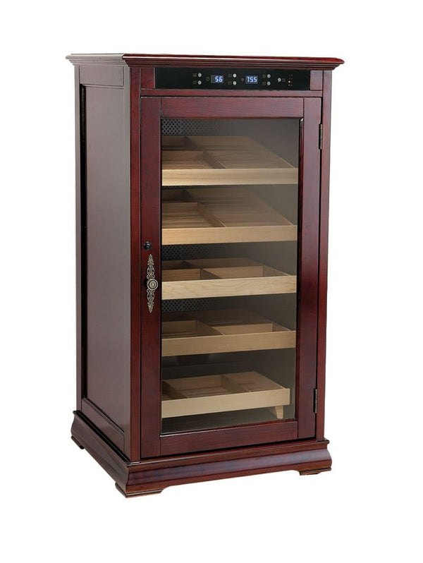 The Redford (Rich Dark Cherry) Cabinet Humidor (6131188760726)