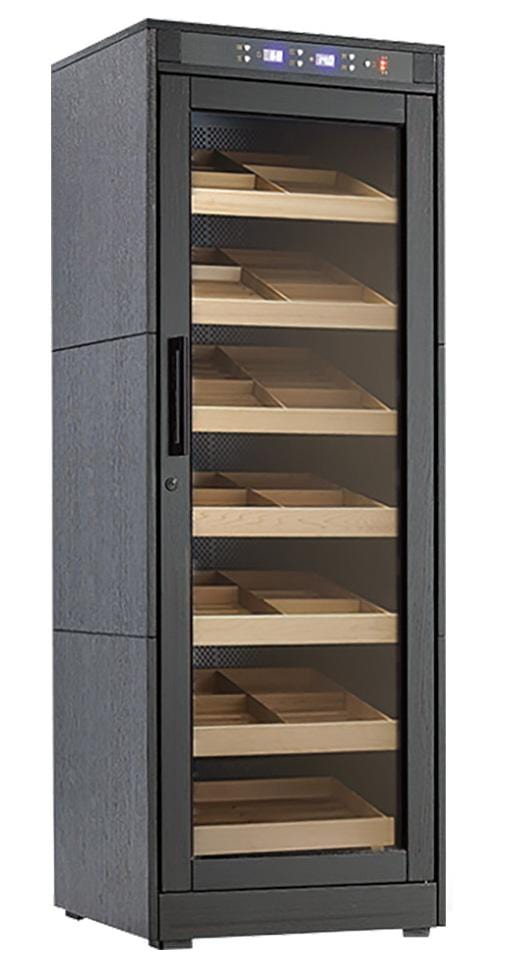 The Remington Lite (Black Oak Wood) Cabinet Humidor (6128825893014)