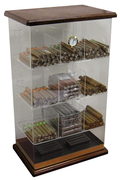 The Roosevelt (Rich Solid Wood) Display Humidor (6141630775446)