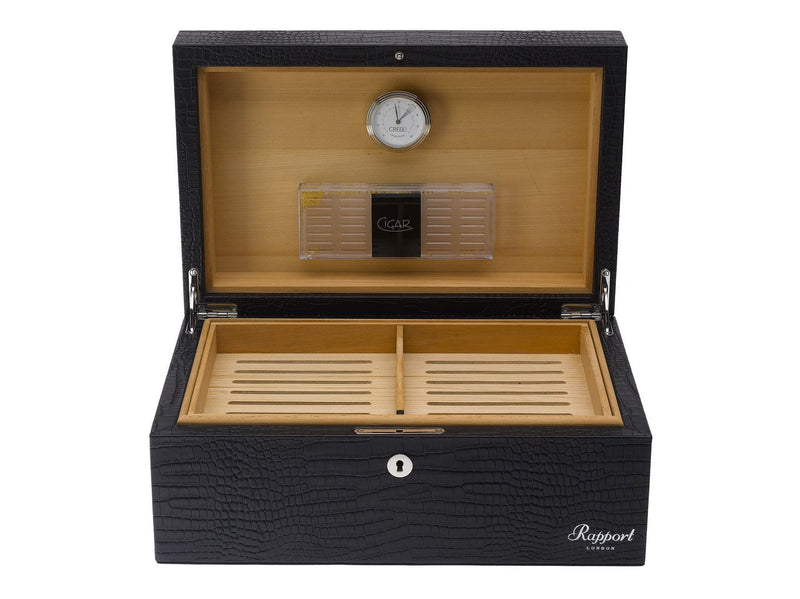 BROMPTON LARGE LEATHER HUMIDOR