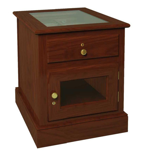 Cigar Cabinet Humidor End Table