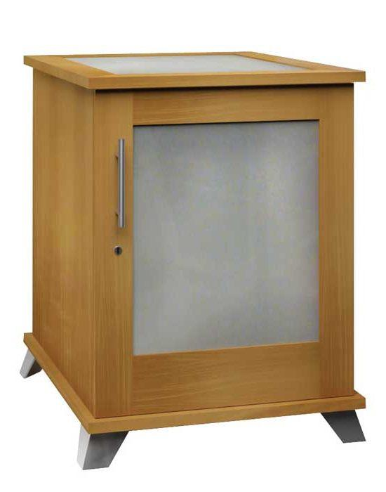 Sentinel 1000 – Contemporary Cigar Humidor End Table