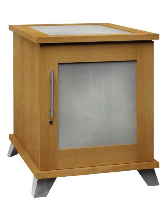 Sentinel 500 – Contemporary Cigar Humidor End Table