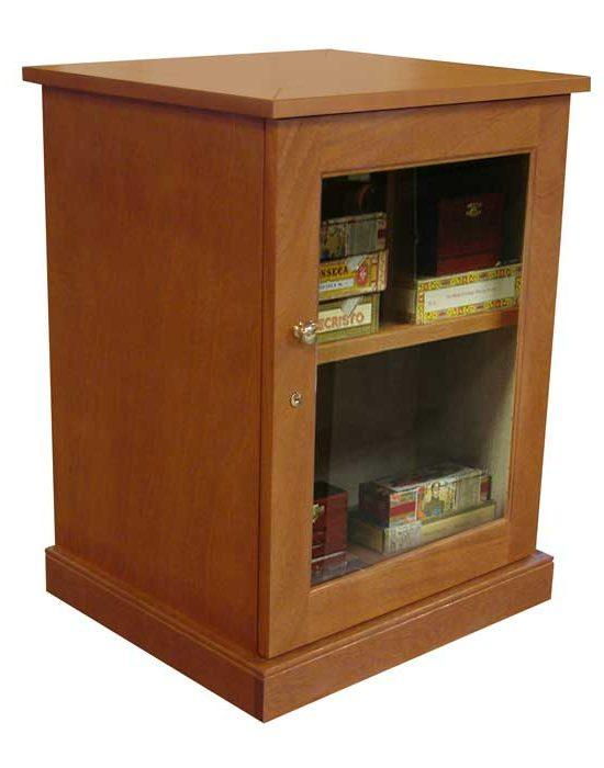 Sentinel 500 – Traditional Cigar Humidor End Table
