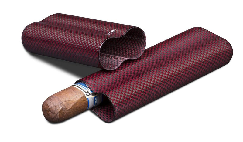 Red Kevlar Cigar Case