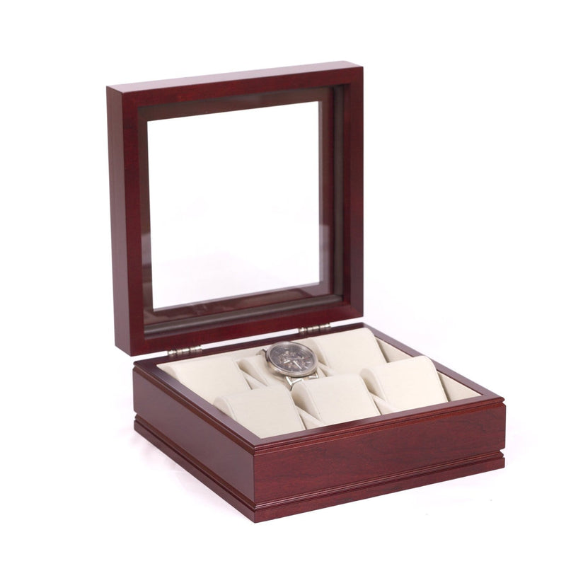 LIEUTENANT - 6 Watch Chest (Cherry or Mahogancy)