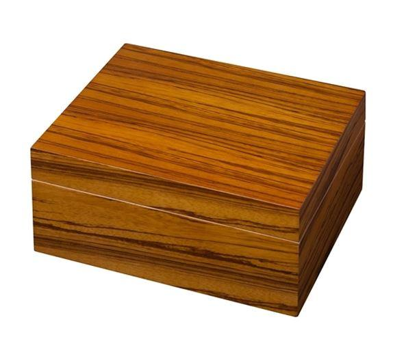 Multi-Tone Wood Veneer Desktop Humidor