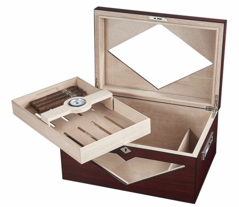 Hudson Red Antique Humidor