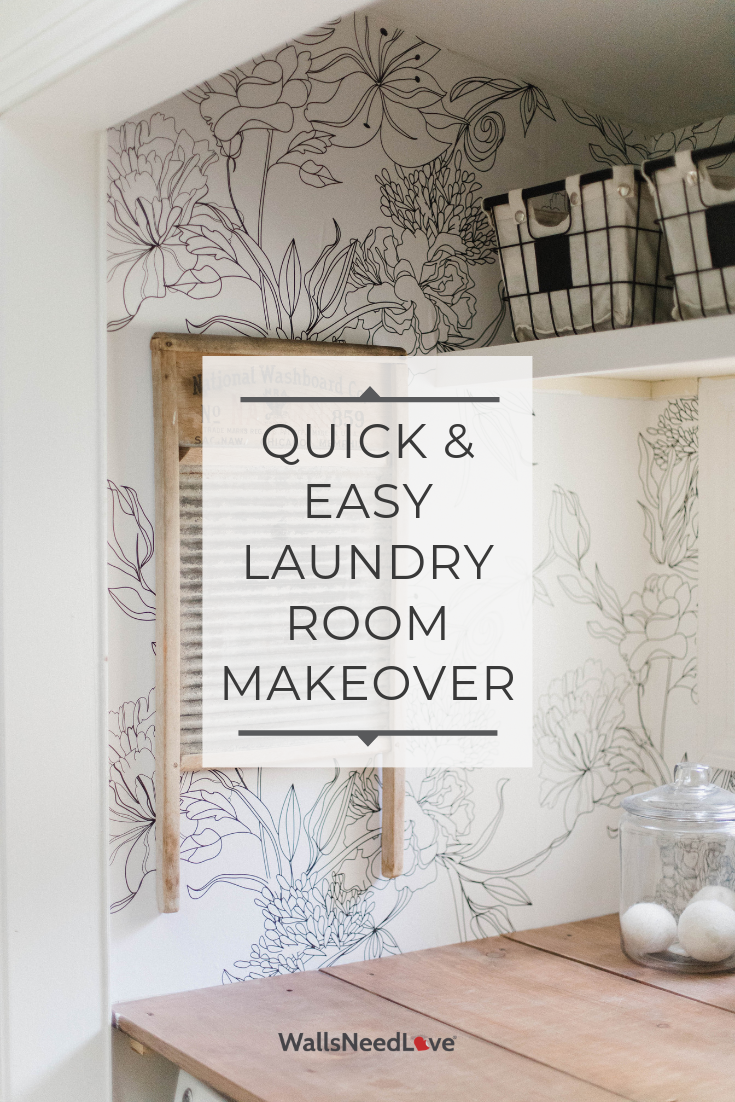 Room Makeover: Laundry Room Update