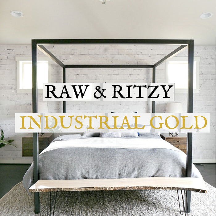 The September Edit : Raw & Ritzy Industrial Gold