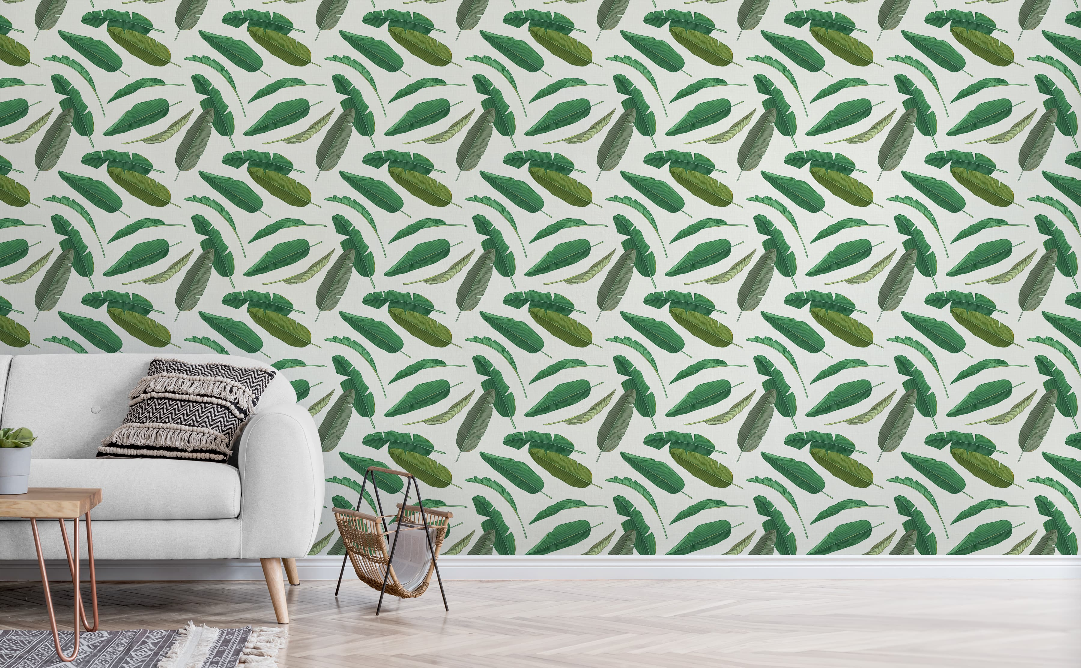 Make Your Walls Look Cool And Chic With Bohemian Wallpaper