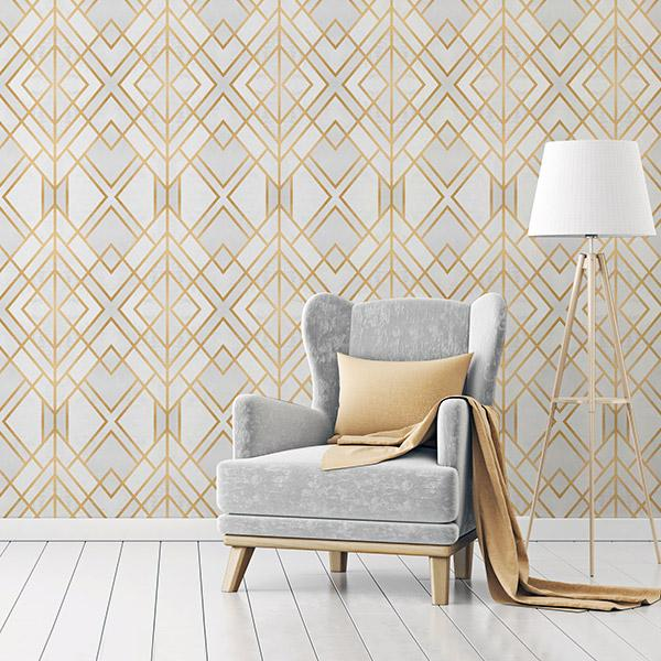 Art Deco Wallpapers Peel and Stick Removable