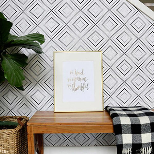 Geometric Removable Wallpaper | Walls Need Love