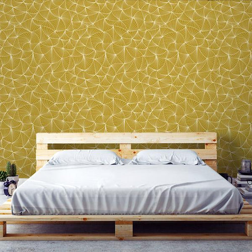 Gold Removable Wallpaper | Walls Need Love