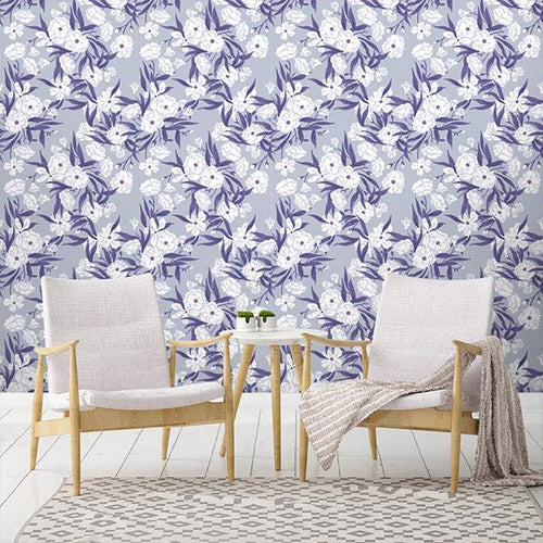 Purple Removable Wallpaper | Walls Need Love