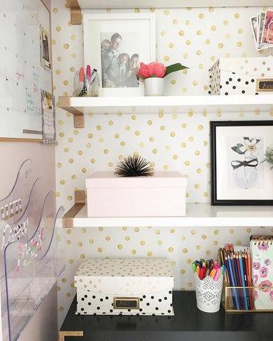 Decorating with matching office accessories
