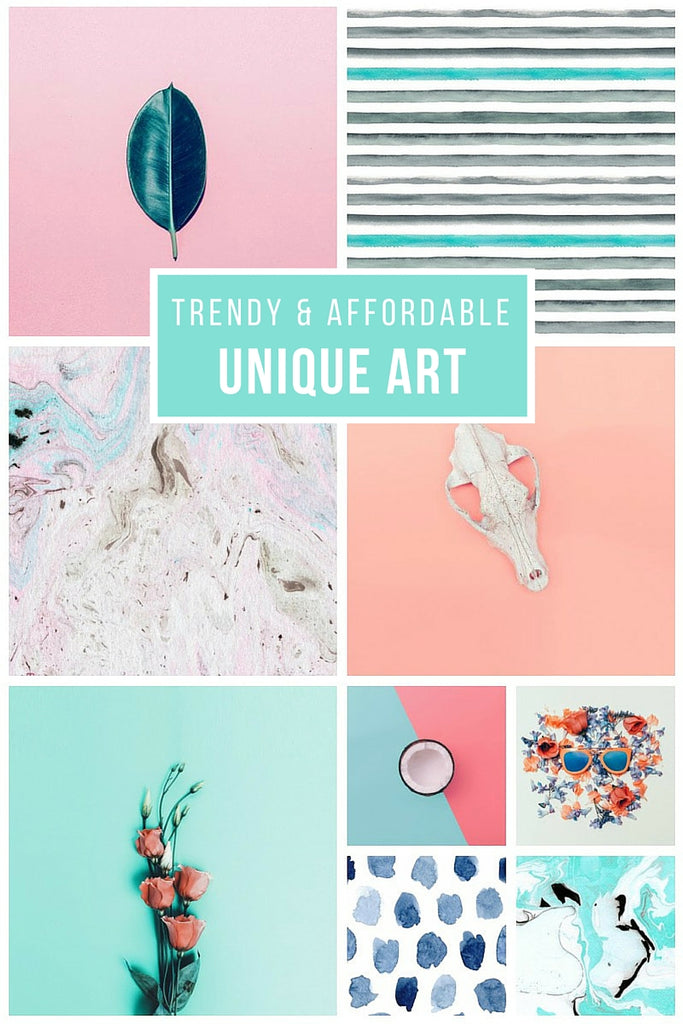 Unique and affordable, WallsNeedLove.com has the hottest art for the summer.