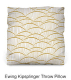 Ewing Kipsplinger Throw Pillow