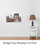 Bridge Over Brooklyn Art Print