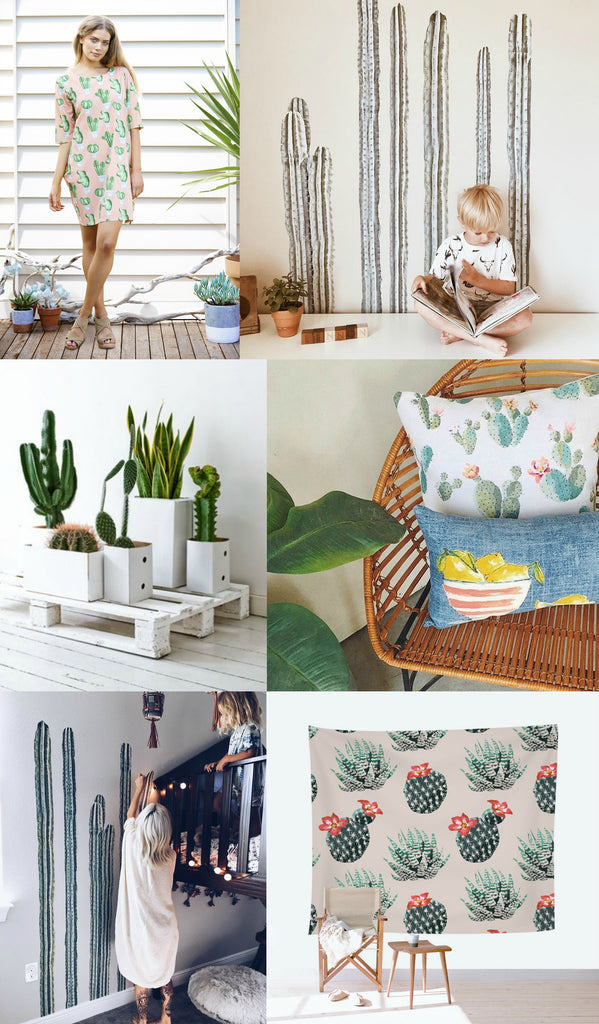 Trending Now: Cacti. See what makes this one of the hottest trends of the summer.
