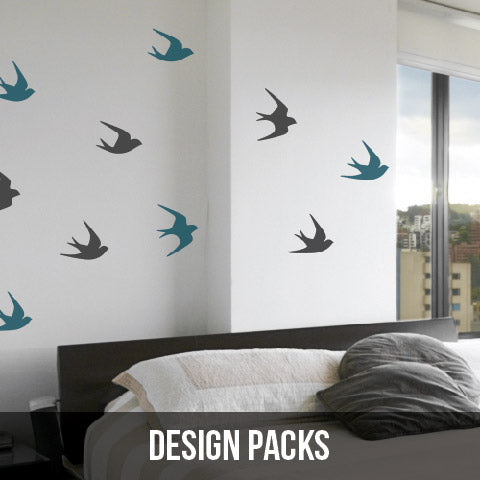Wall Decals - Design Pack Collection