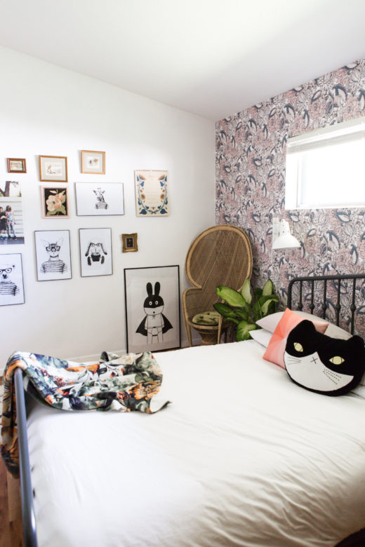 Wallpaper For Small Spaces Part - 25: Go Bold In Small Spaces With Removable Wallpaper By WallsNeedLove