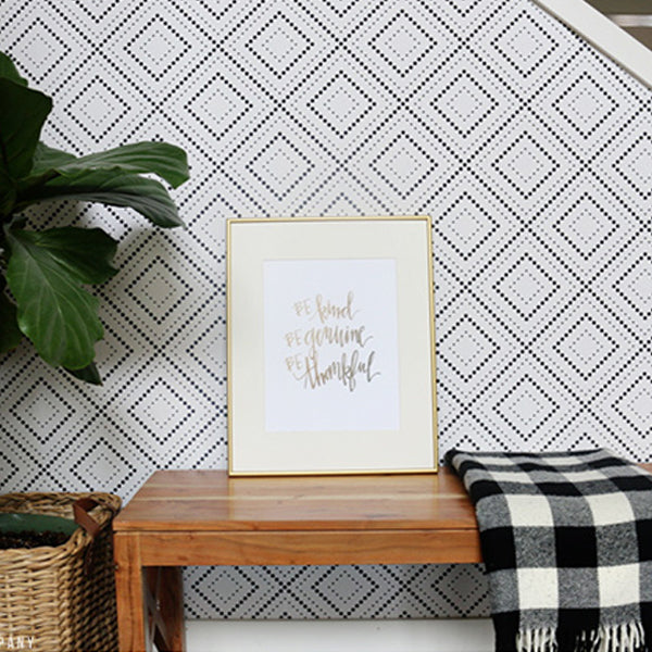 Geometric Wallpapers Peel and Stick Removable