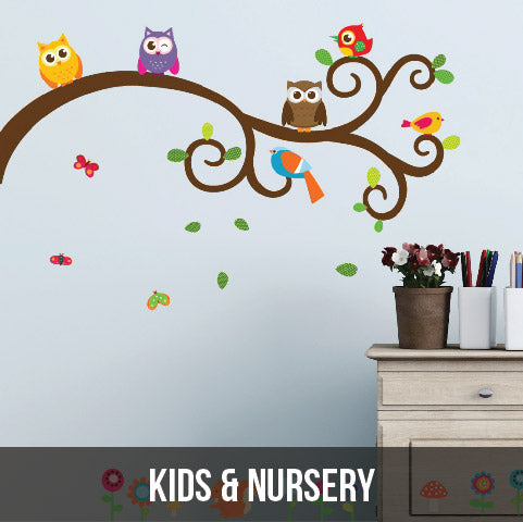 Wall Decals - Kids & Nursery Collection