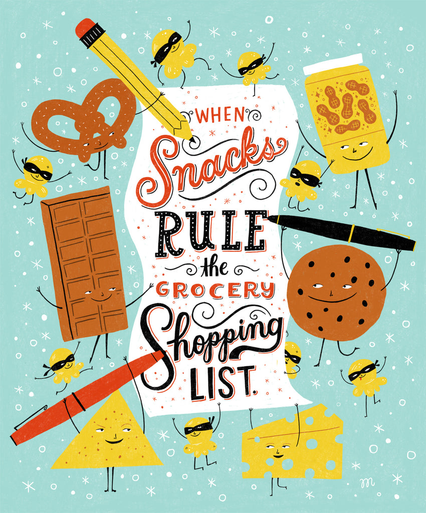 Snacks Rule by Mary Kate McDevitt