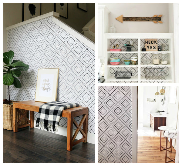 See how Bloggers around the web are using Walls Need Love Pixel Diamond Wallpaper