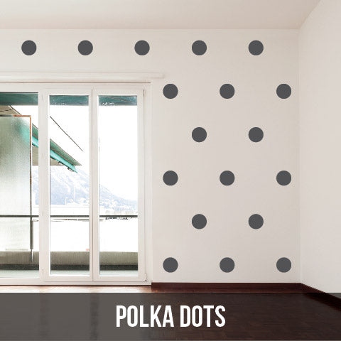 Wall Decals - Polka Dots Collection