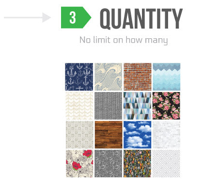 Removable Wallpaper - no limit on roll quantity