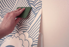 Applying Removable Wallpaper