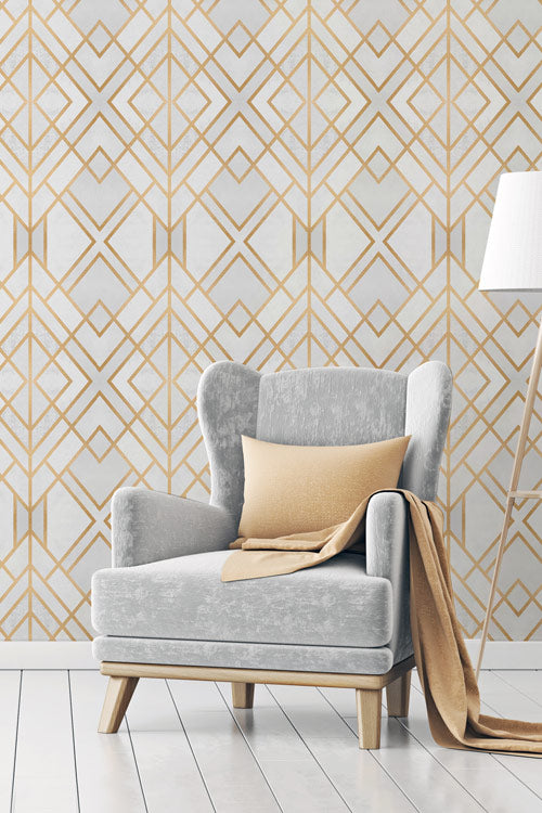 Art Deco Removable Wallpapers