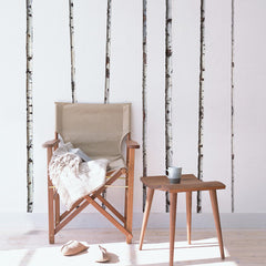 WallsNeedLove Summer Birch Tree Wall Decals