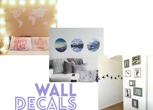 ... Your Walls With Wall Art. Not Only Do They Barely Take Up Any Space,  But Theyu0027re Also A Fantastic Way To Say Bye Bye To Bare And Boring Dorm  Room Walls. Part 89