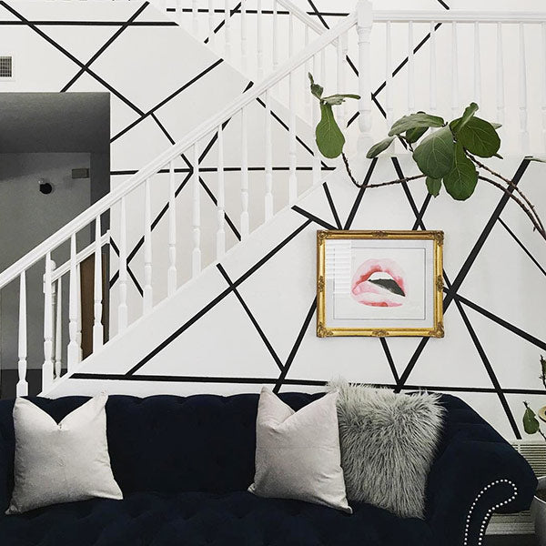 Easy Stripe Peel and Stick Wall Decals