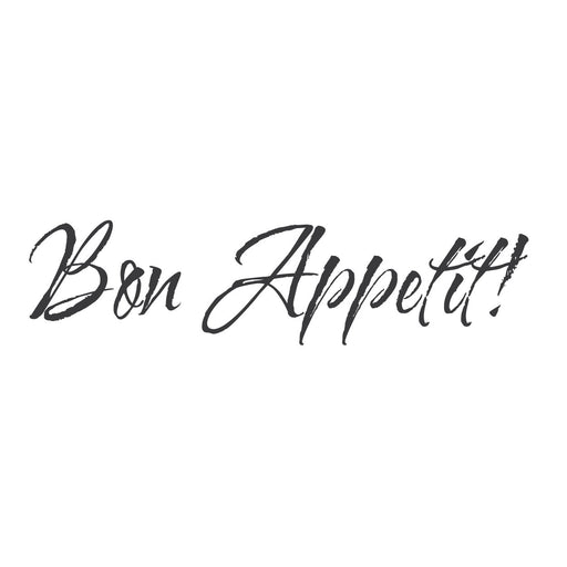 "wall quotes wall decals - ""Bon Appetit!"""