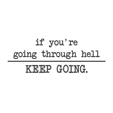 wall quotes wall decals - Keep Going!