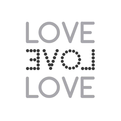 wall quotes wall decals - LOVE LOVE LOVE