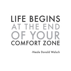 wall quotes wall decals - Comfort Zone | lifestyle