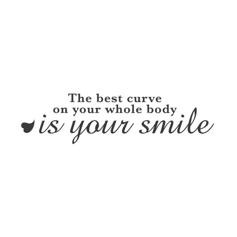 wall quotes wall decals - Your Best Curve Adhesive