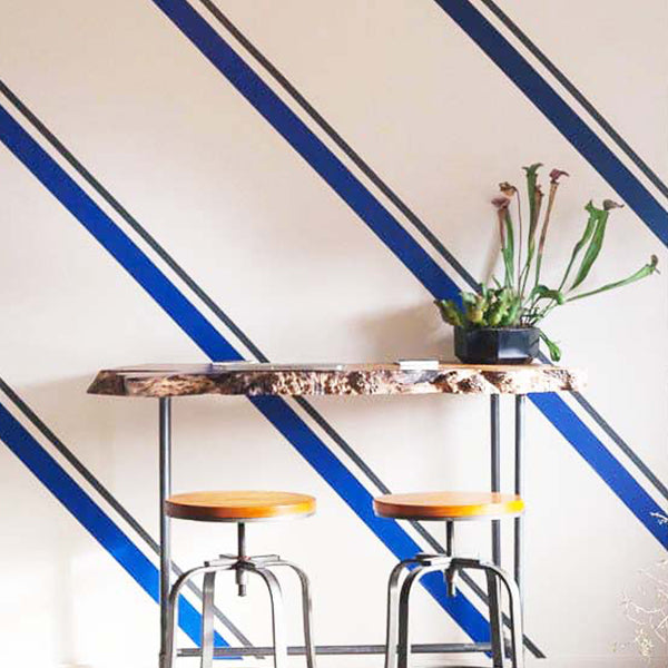Easy Stripe Peel and Stick Wall Decals  sc 1 st  WallsNeedLove & Easy Stripe Peel is Rolls of Peel and Stick Stripe Wall Decals ...