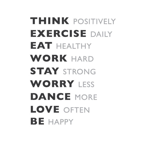 wall quotes wall decals - Daily Goals | lifestyle