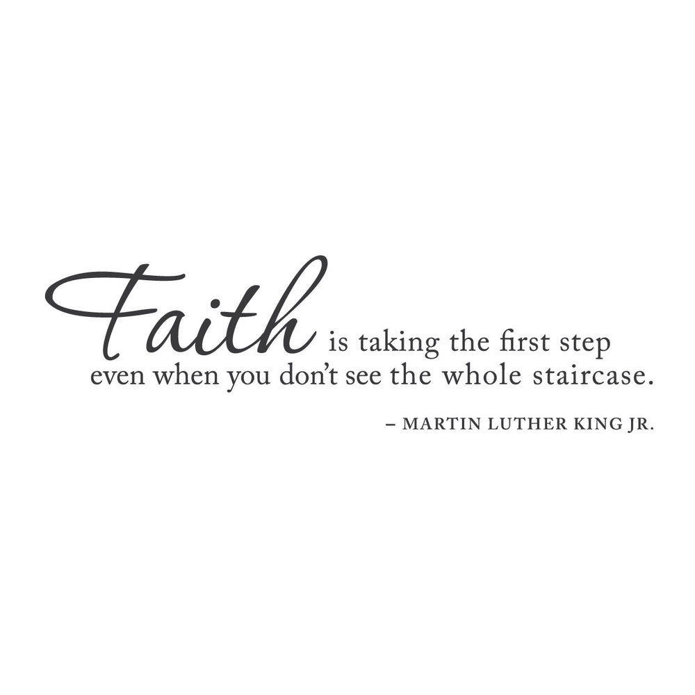 wall quotes wall decals - Blind Faith