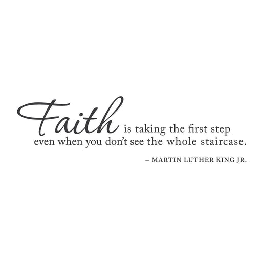 wall quotes wall decals - Blind Faith | lifestyle