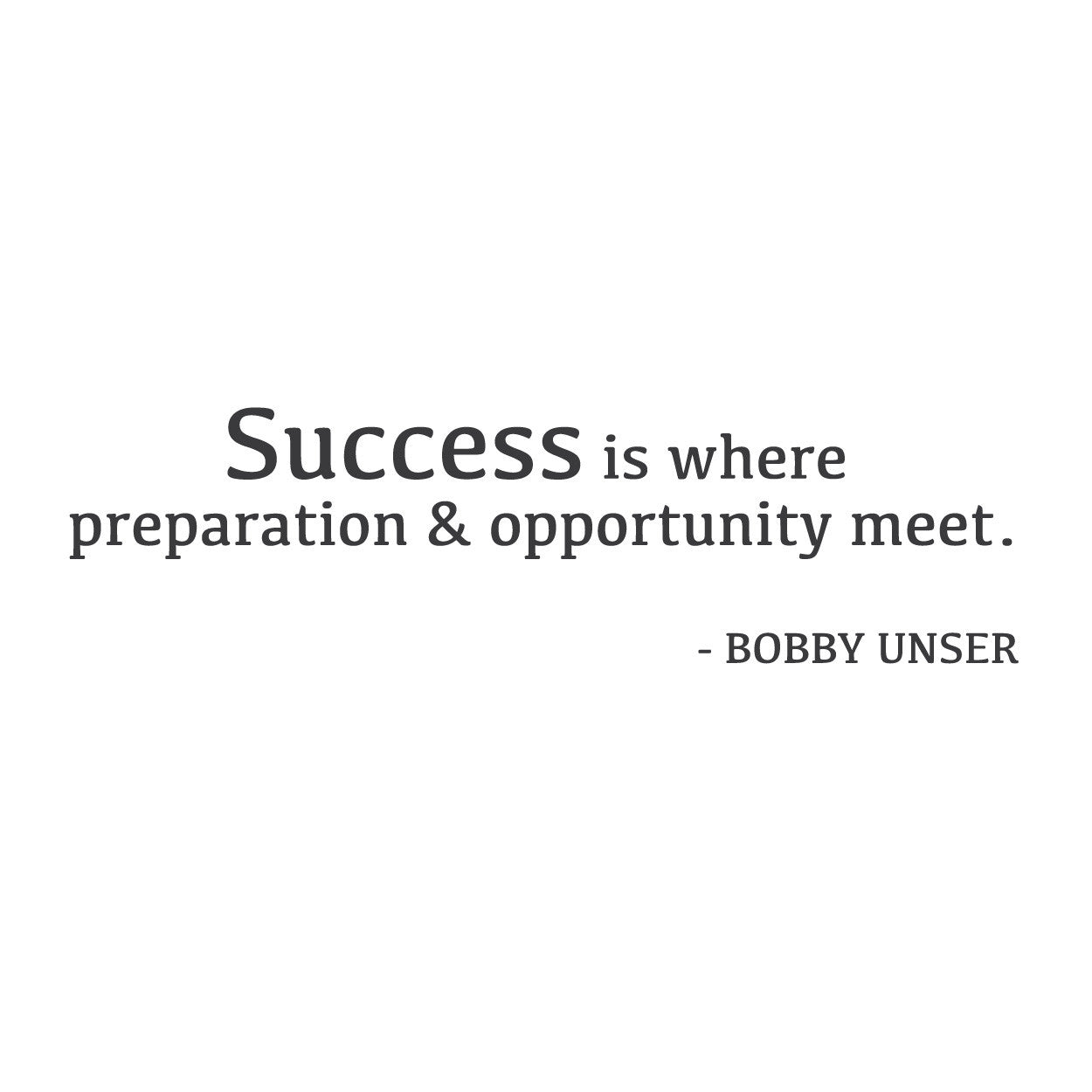 "Quote Success Is When Preparation Meets Opportunity: ""Success Is Where Preparation"