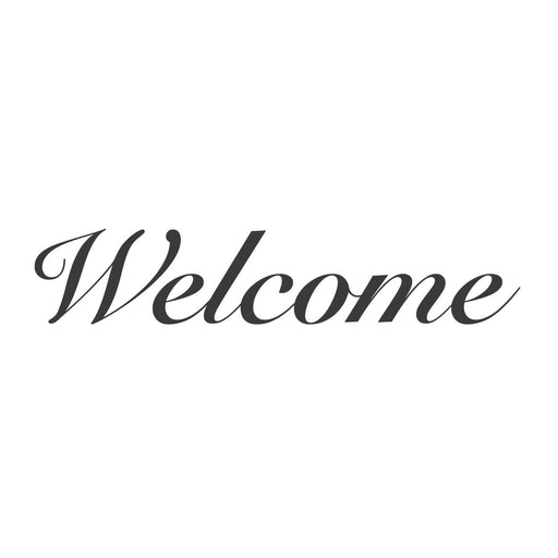 "wall quotes wall decals - ""Welcome"" 