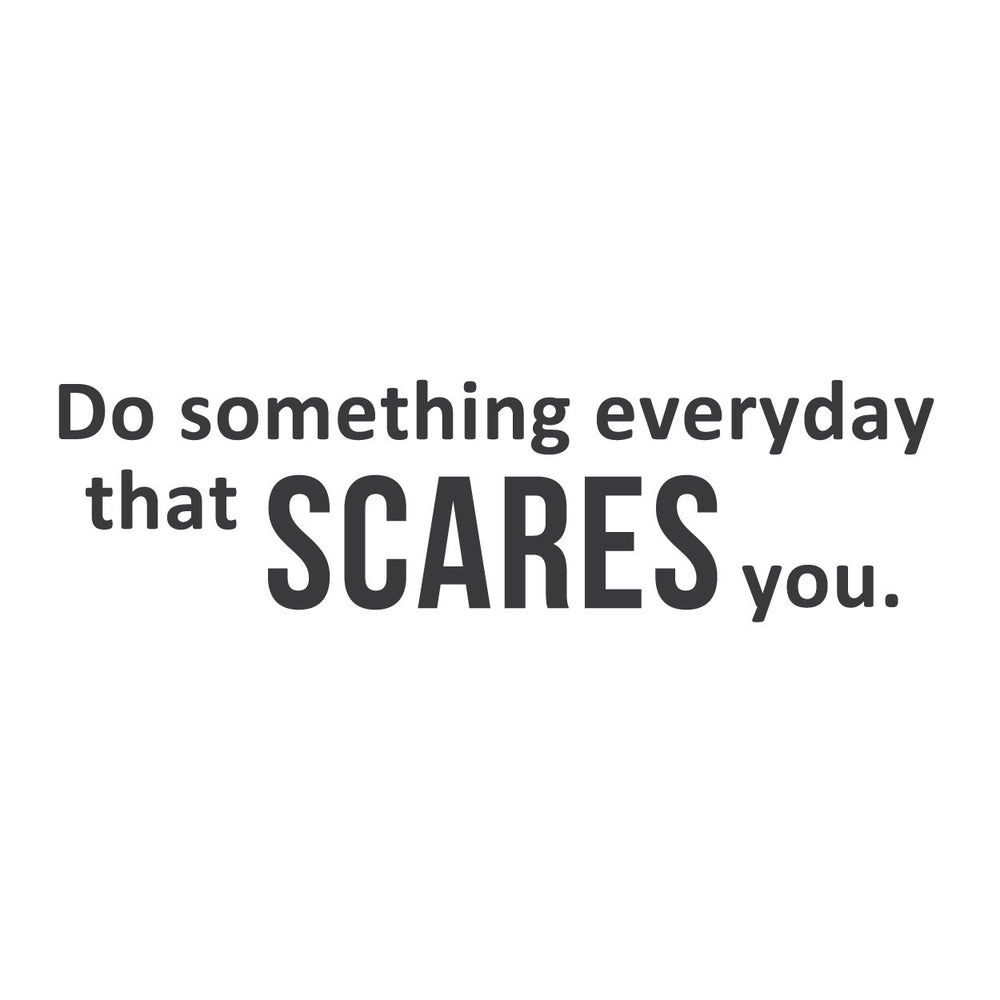 Wall Quotes Wall Decals Something Scary