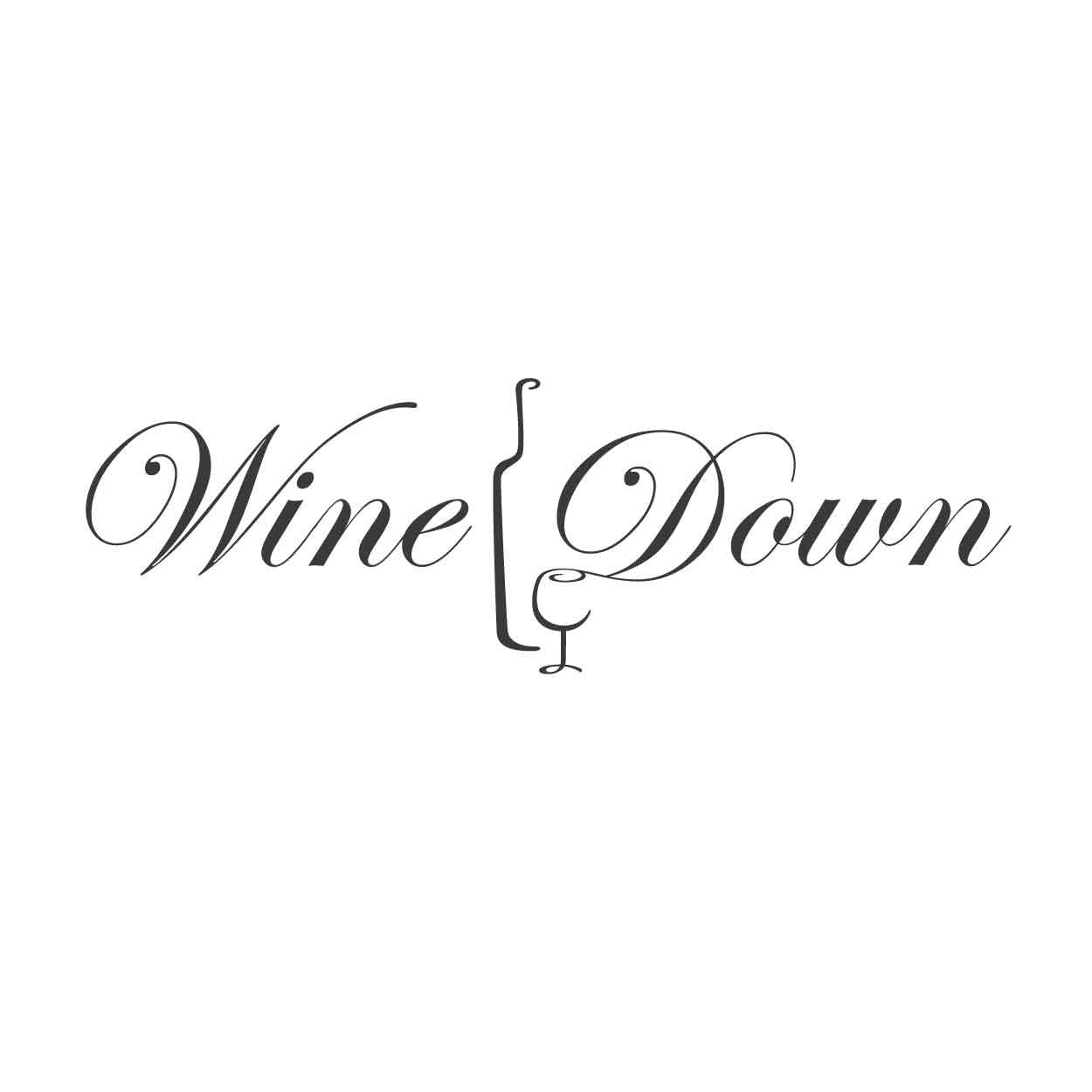 Wall Quotes Wall Decals Wine Down